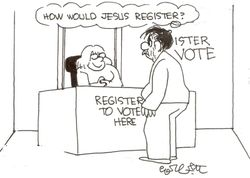 Who would jesus vote for 2